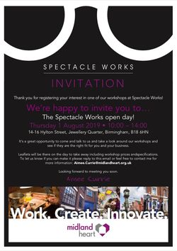 Spectacle Works invitation 1