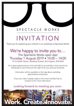 Spectacle Works invitation 2